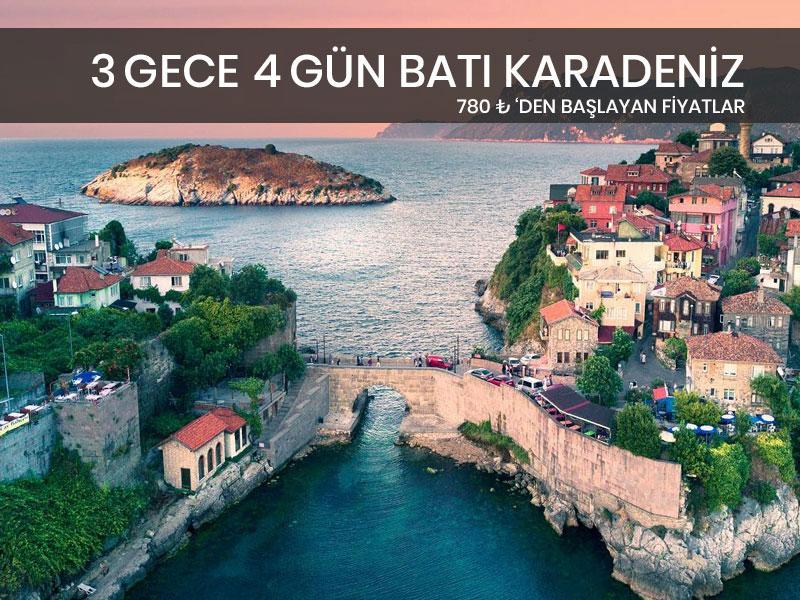 3 Gece 4 Gün Batı Karadeniz Turu